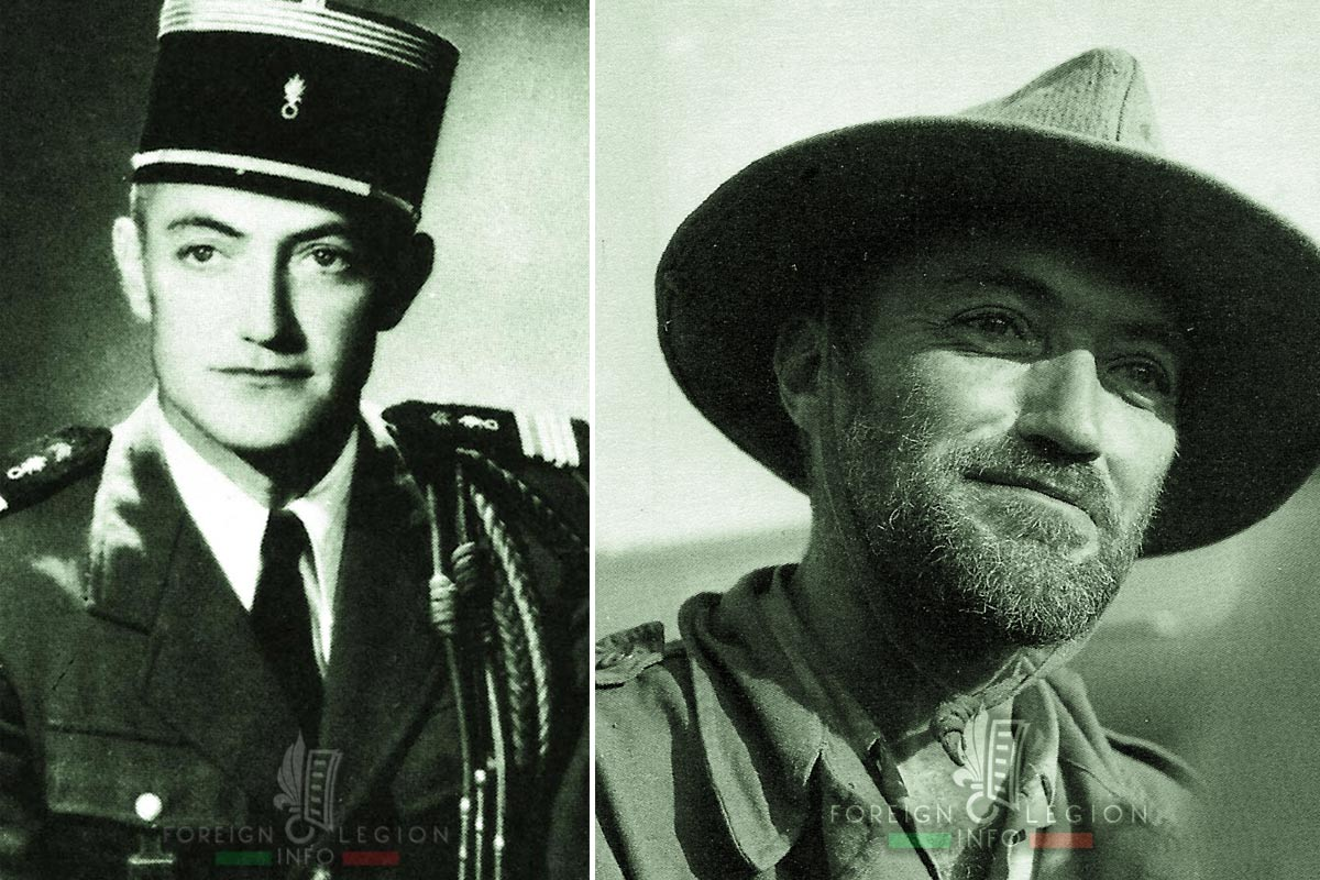3e REI - 3 REI - Raymond Cabaribère - Foreign Legion Etrangere - 1954 - Indochina