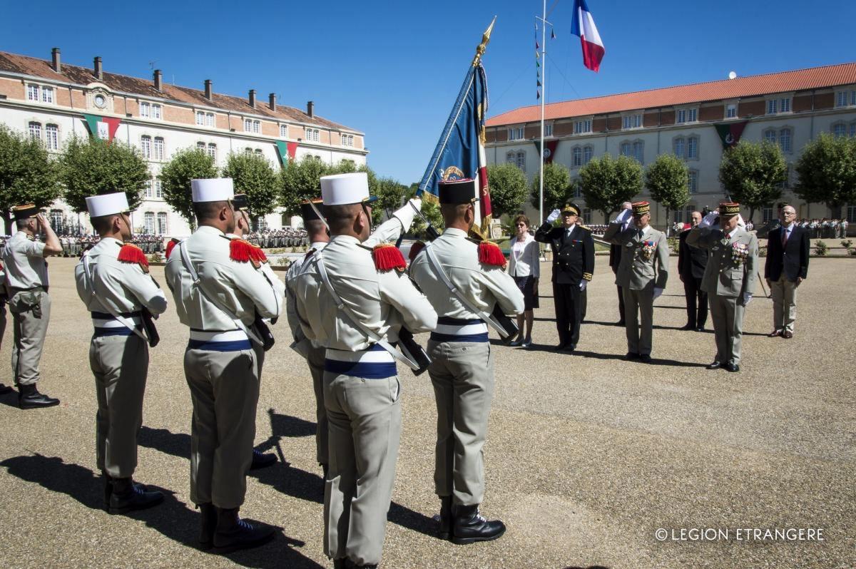 2e REI - 2 REI - Foreign Legion Etrangere - 2016 - Nimes