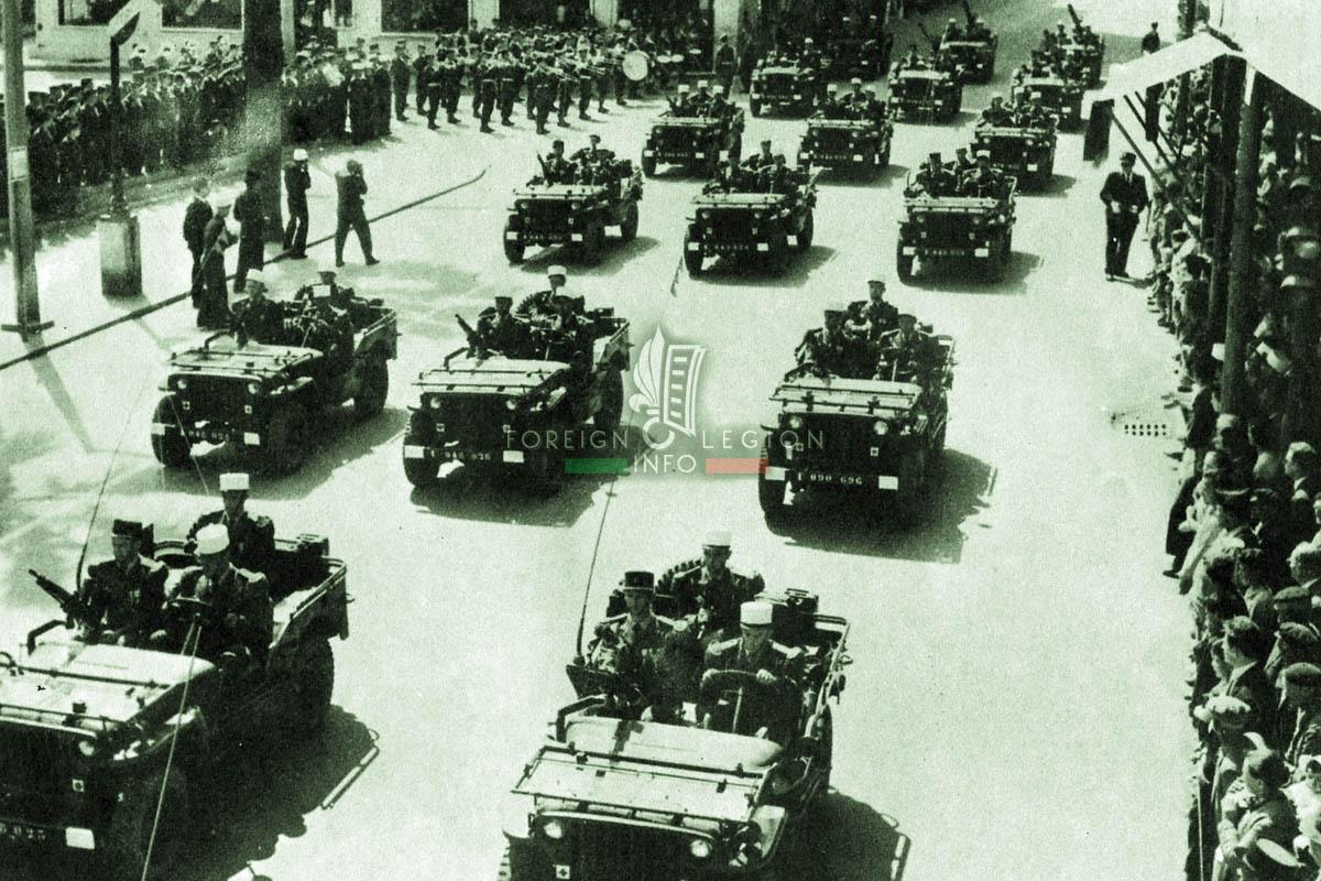 2e REP - 2 REP - Foreign Legion Etrangere - 1958 - Algeria