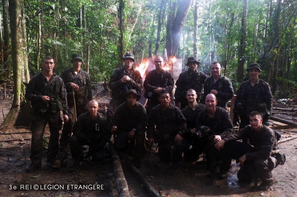 3e REI - 3 REI - Foreign Legion Etrangere - 2015 - French Guiana