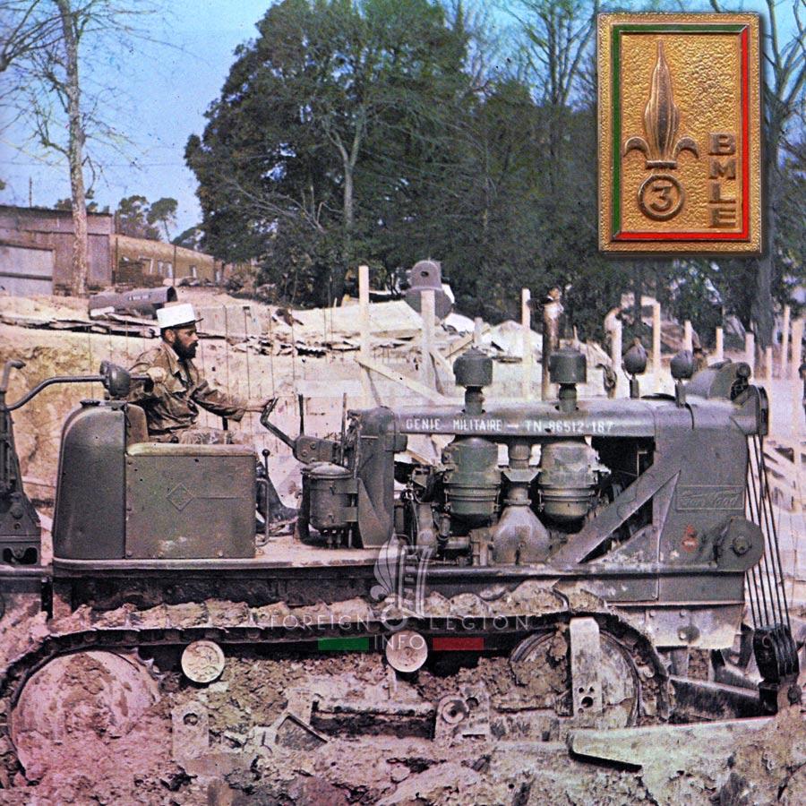 3e BMLE - 3 BMLE - Foreign Legion Etrangere - 1963 - Aubagne - France