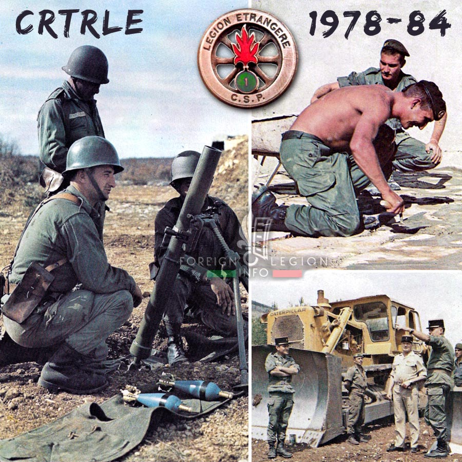 CRTRLE - Foreign Legion Etrangere - 1980 - 1981 - France