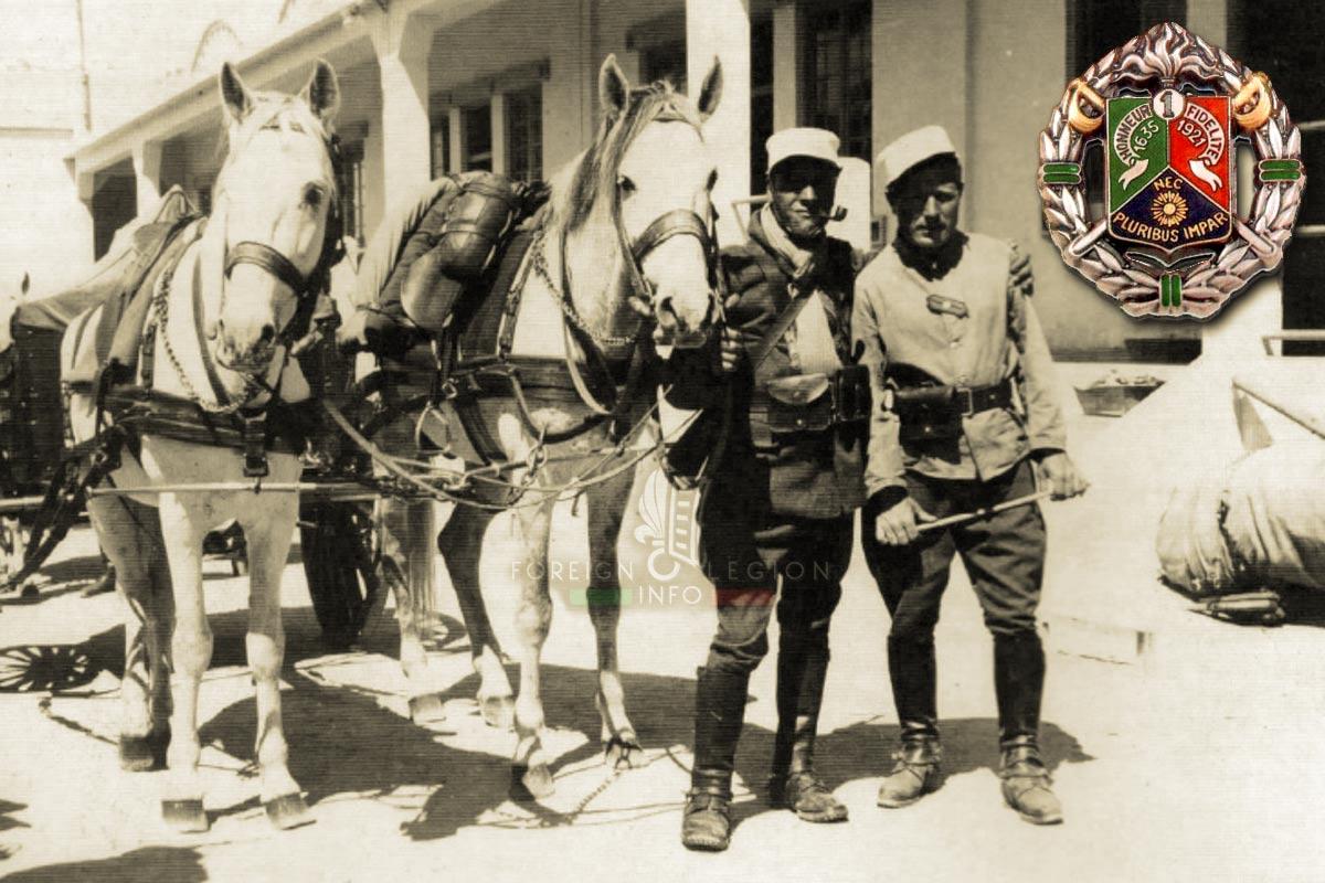 1er REC - 1 REC - Foreign Legion Etrangere - 1937 - Tunisia