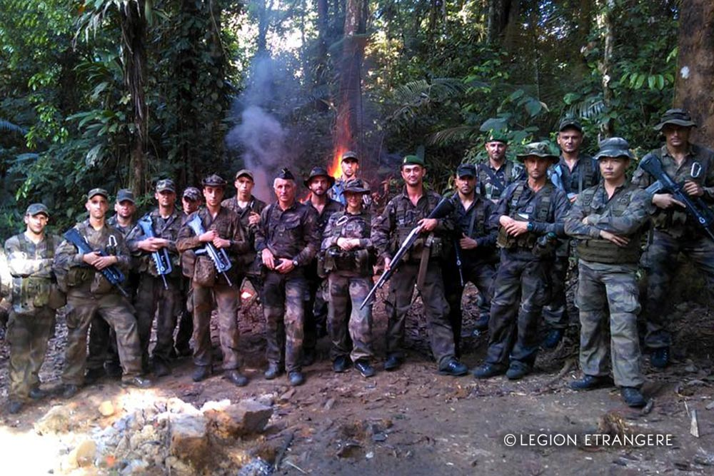 3e REI - 3 REI - Foreign Legion Etrangere - 2016 - Operation Foudre 4 - French Guiana
