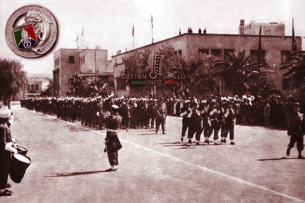 2e REC - 2e REC - Foreign Legion Etrangere - 1955 - Oujda - Morocco