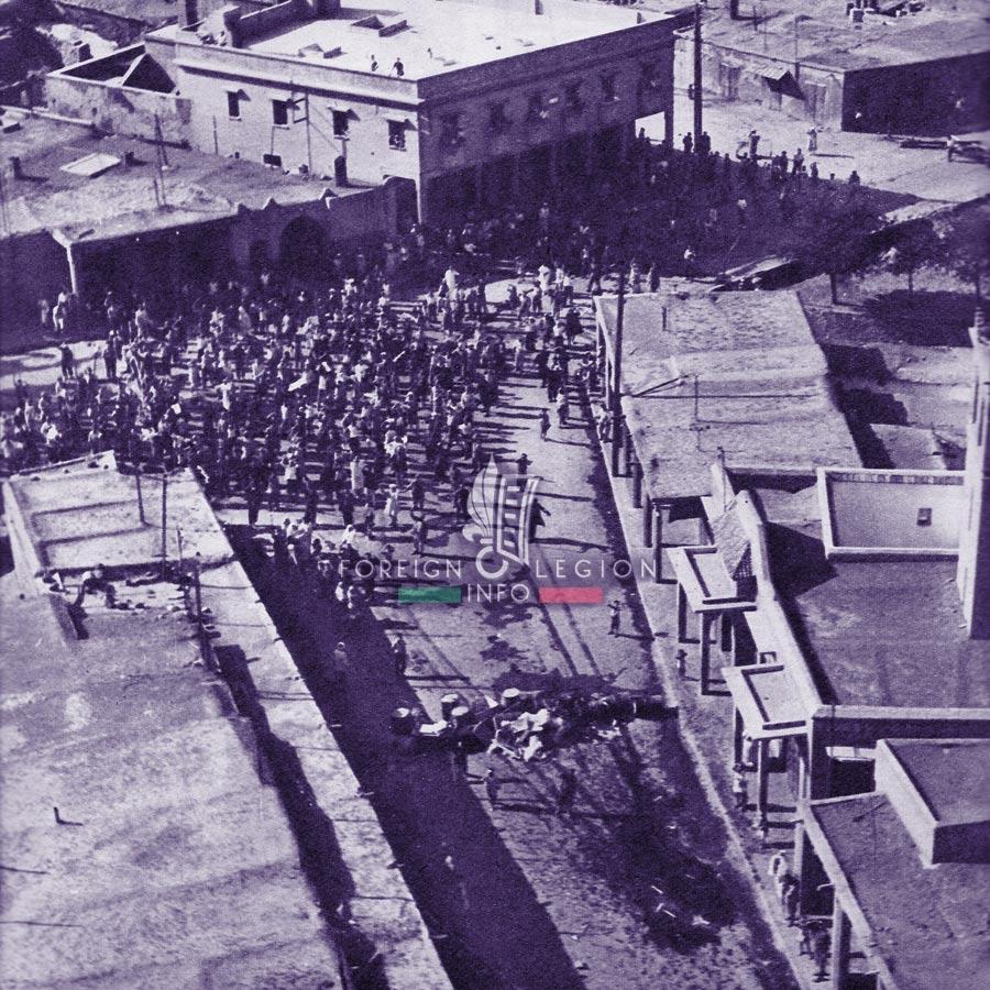 4e REI - 4 REI - Foreign Legion Etrangere - 1955 - rebellions - Khenifra - Morocco