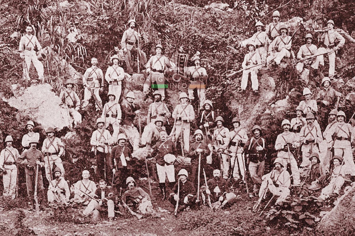 Foreign Legion Etrangere - 1898 - Madagascar