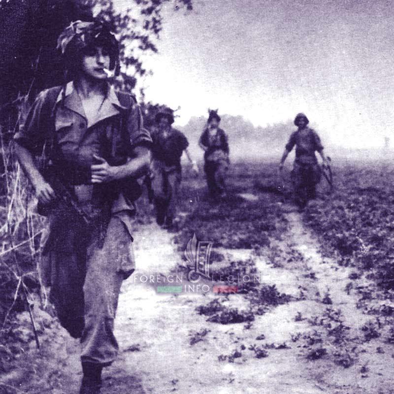 2e BEP - 2 BEP - Foreign Legion Etrangere - 1955 - Vietnam