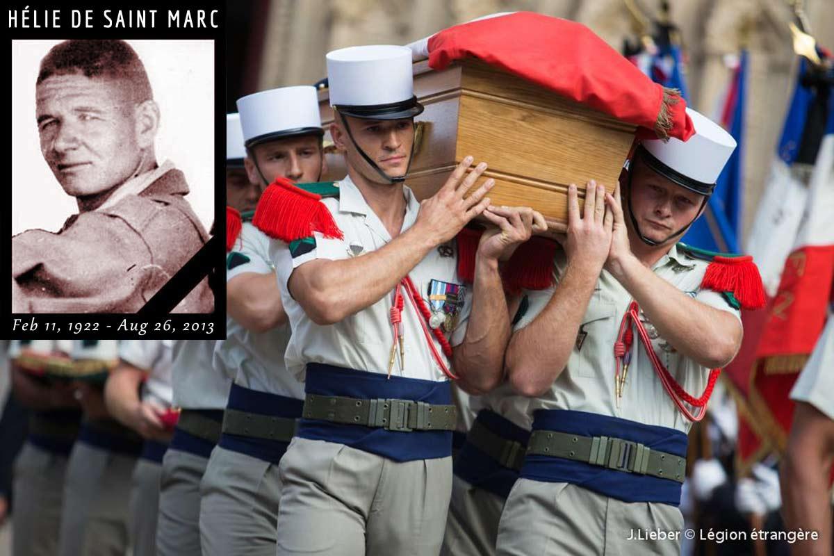 Helie de Saint Marc - Foreign Legion Etrangere - 2013 - Lyon