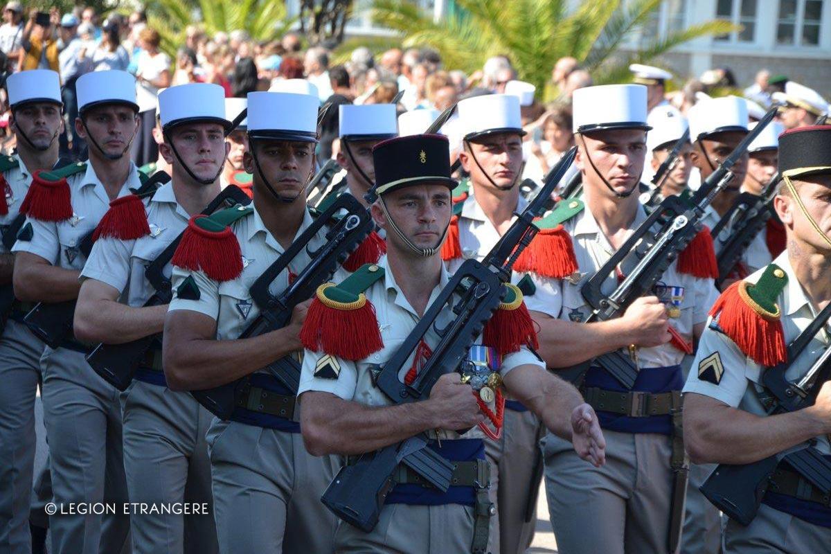 2e REP - 2 REP - Foreign Legion Etrangere - 2017 - Calvi - Camp Raffalli