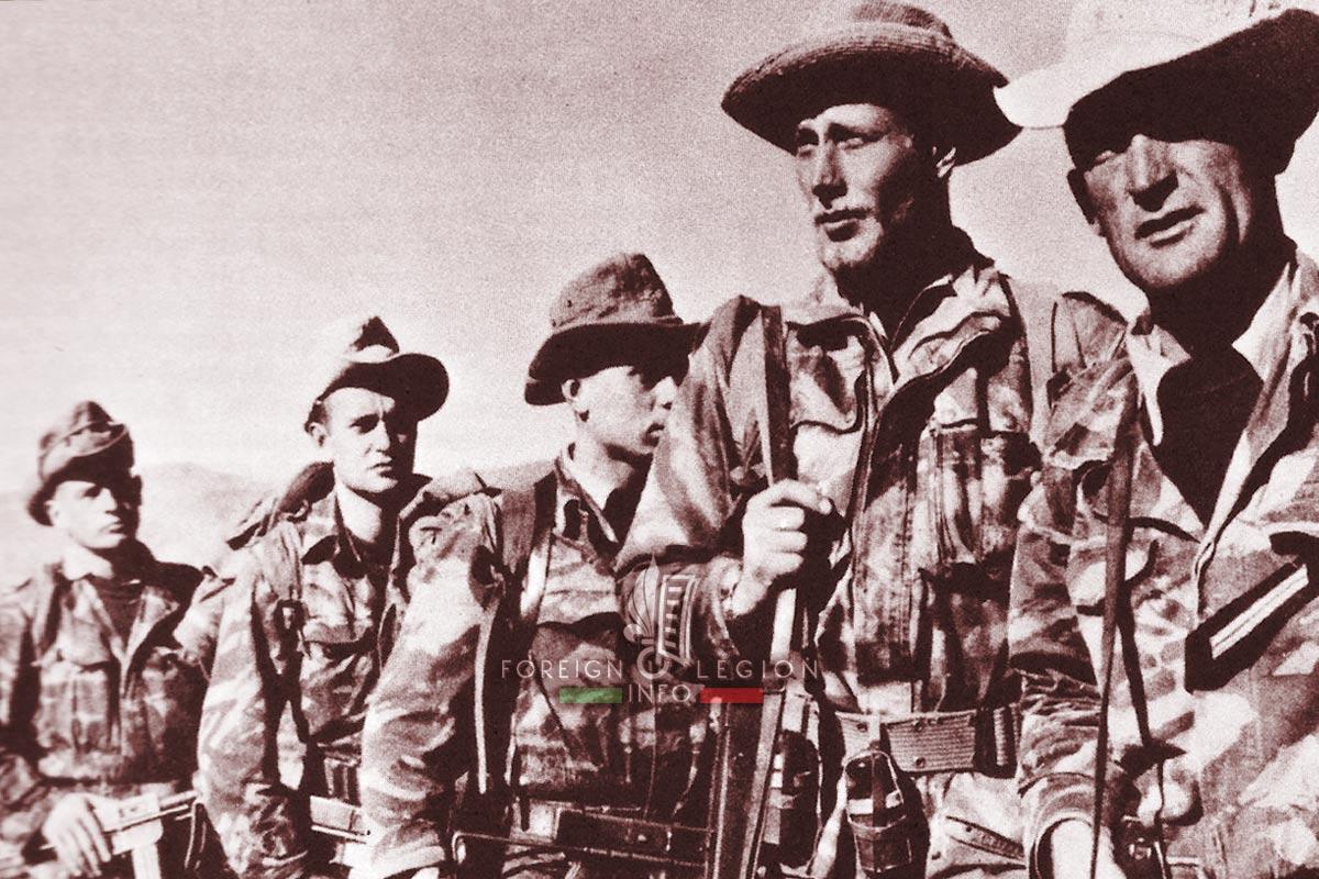 2e REI - 2 REI - Foreign Legion Etrangere - 1960 - Djebel Beni Smir - Algeria