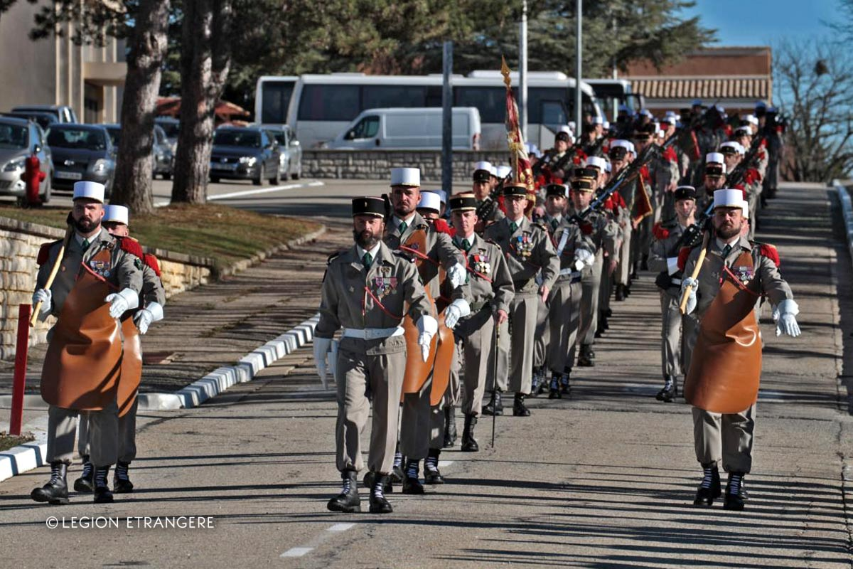 2e REG - 2 REG - Foreign Legion Etrangere - 2016 - Sainte Barbe