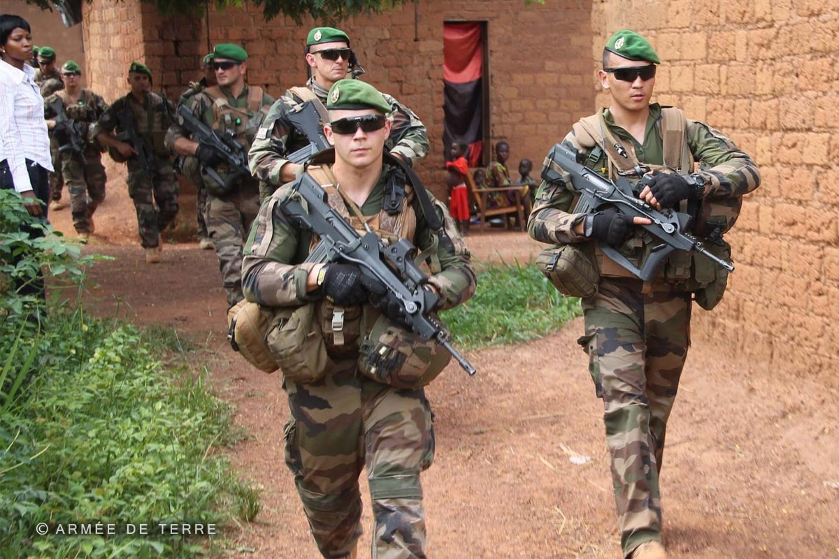 2e REI - 2 REI - Foreign Legion Etrangere - 2015 - Operation Sangaris - Central African Republic