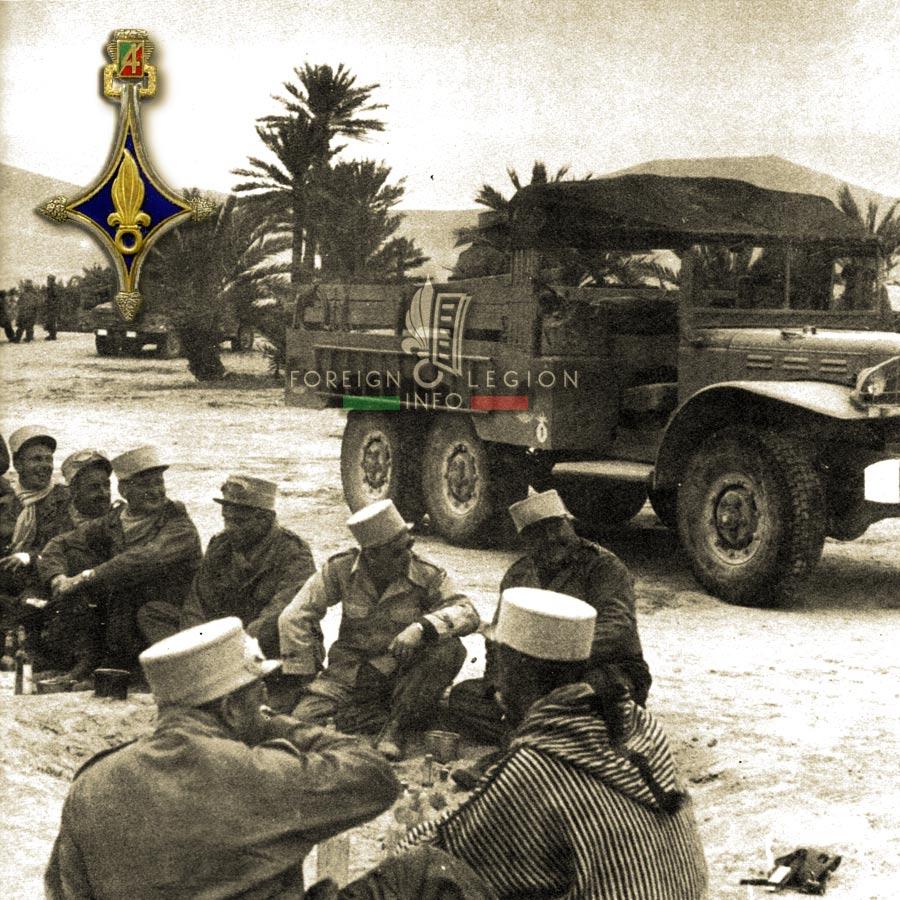 4e CSPL - 4 CSPL - Foreign Legion Etrangere - 1957 - Algeria