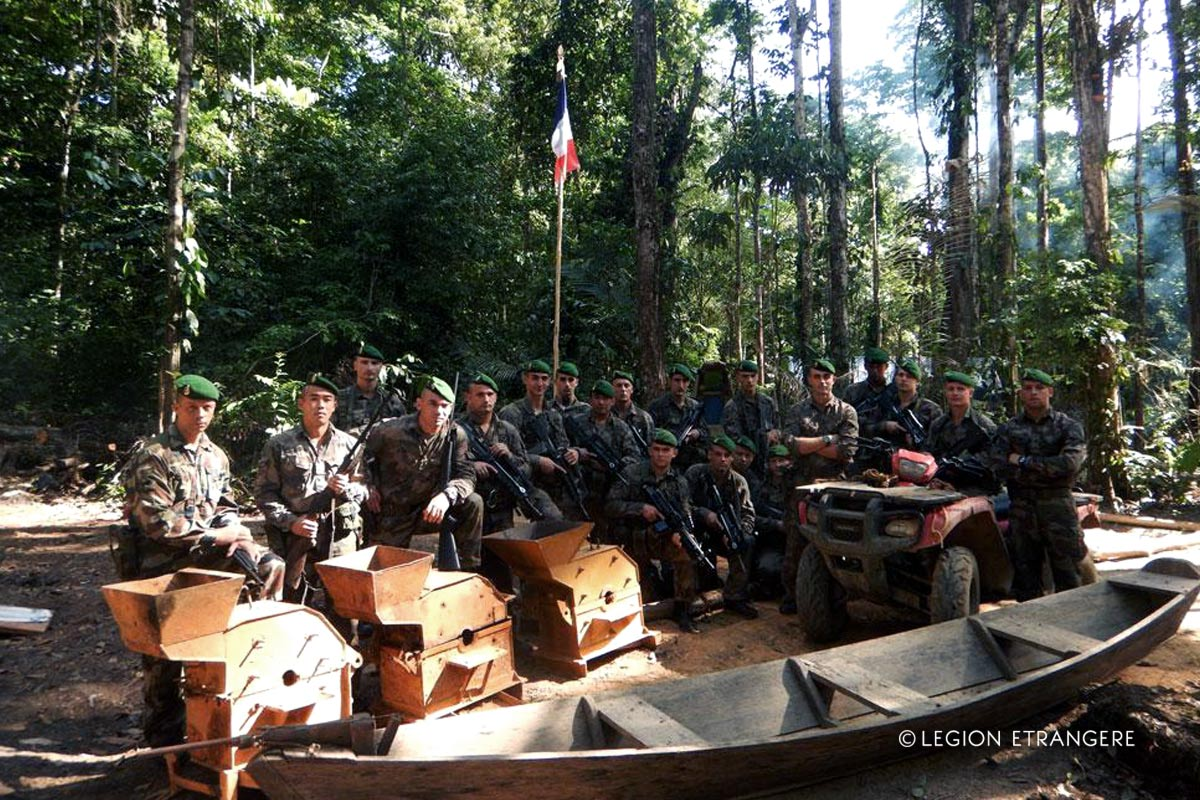 3e REI - 3 REI - Foreign Legion Etrangere - 2015 - Operation Yawasisi - French Guiana