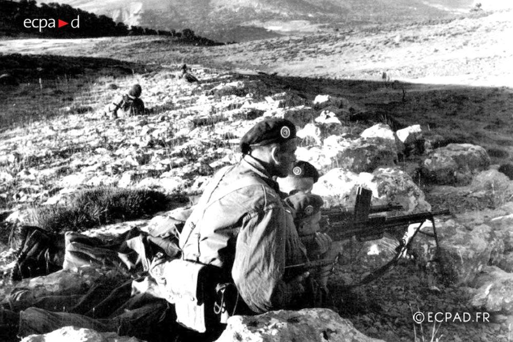 2e REP - 2 REP - Foreign Legion Etrangere - 1957 - Algeria