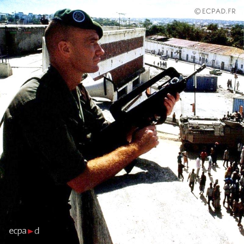 2e REP - 2 REP - Foreign Legion Etrangere - 1992 - Mogadishu - Somalia