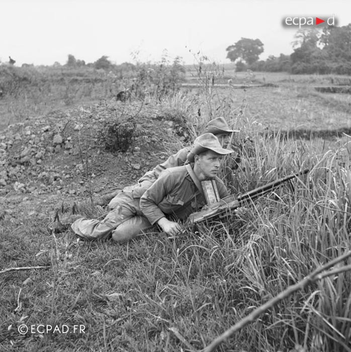 5e REI - 5 REI - BM5 - Foreign Legion Etrangere - 1952 - Indochina