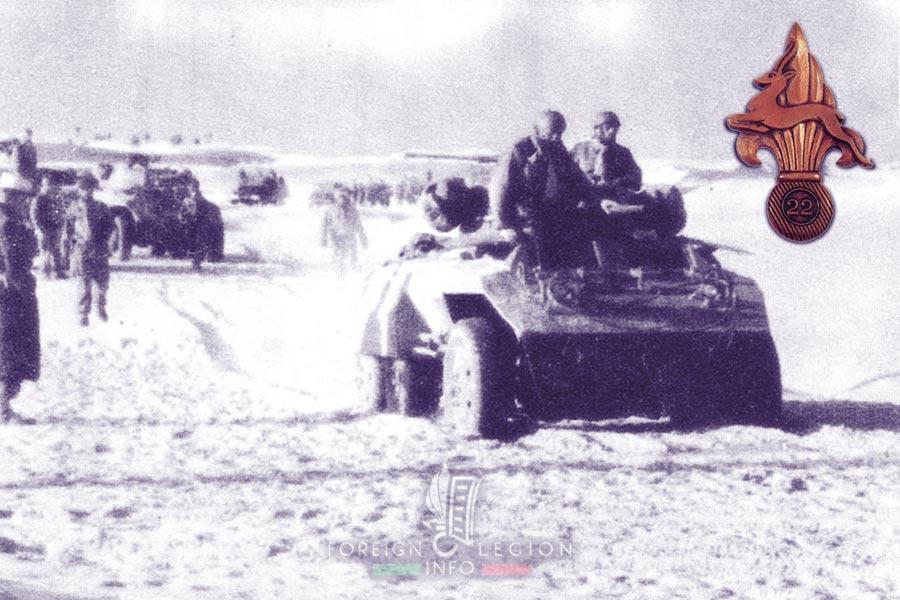 22e CPLE - 22 CPLE - Foreign Legion Etrangere - 1955 - Algeria