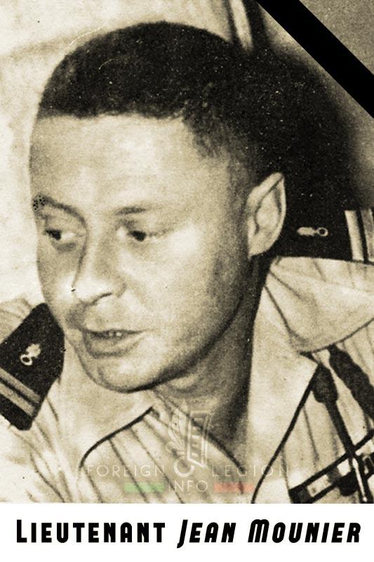 2e REP - 2 REP - Foreign Legion Etrangere - 1956 - Lieutenant Mounier - Algeria