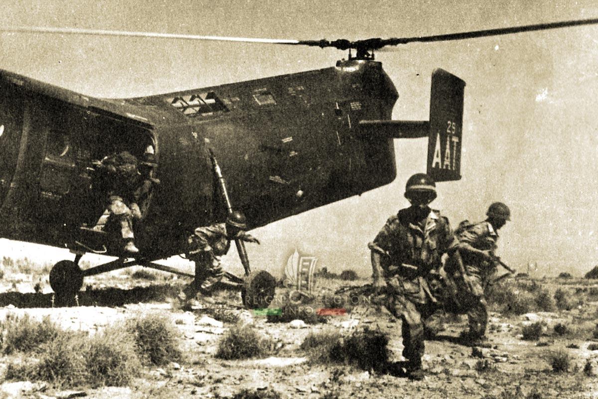 2e REP - 2 REP - Foreign Legion Etrangere - 1957 - Piasecky - Algeria