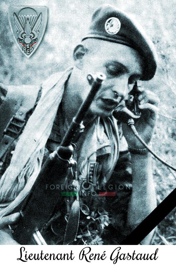 1er REP - 1 REP - Foreign Legion Etrangere - 1958 - Lieutenant René Gastaud - Algeria