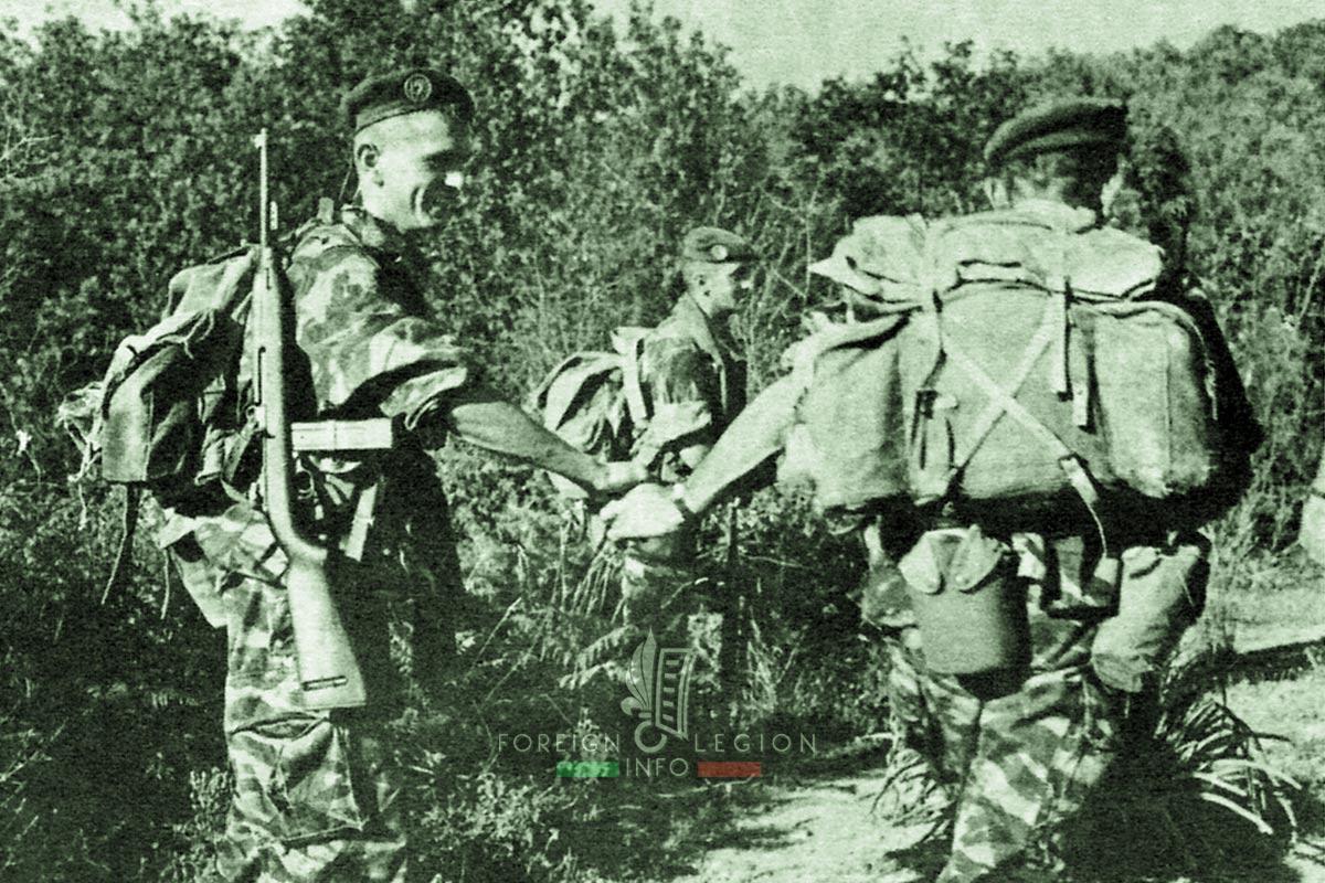 2e REP - 2 REP - Foreign Legion Etrangere - 1961 - Algeria