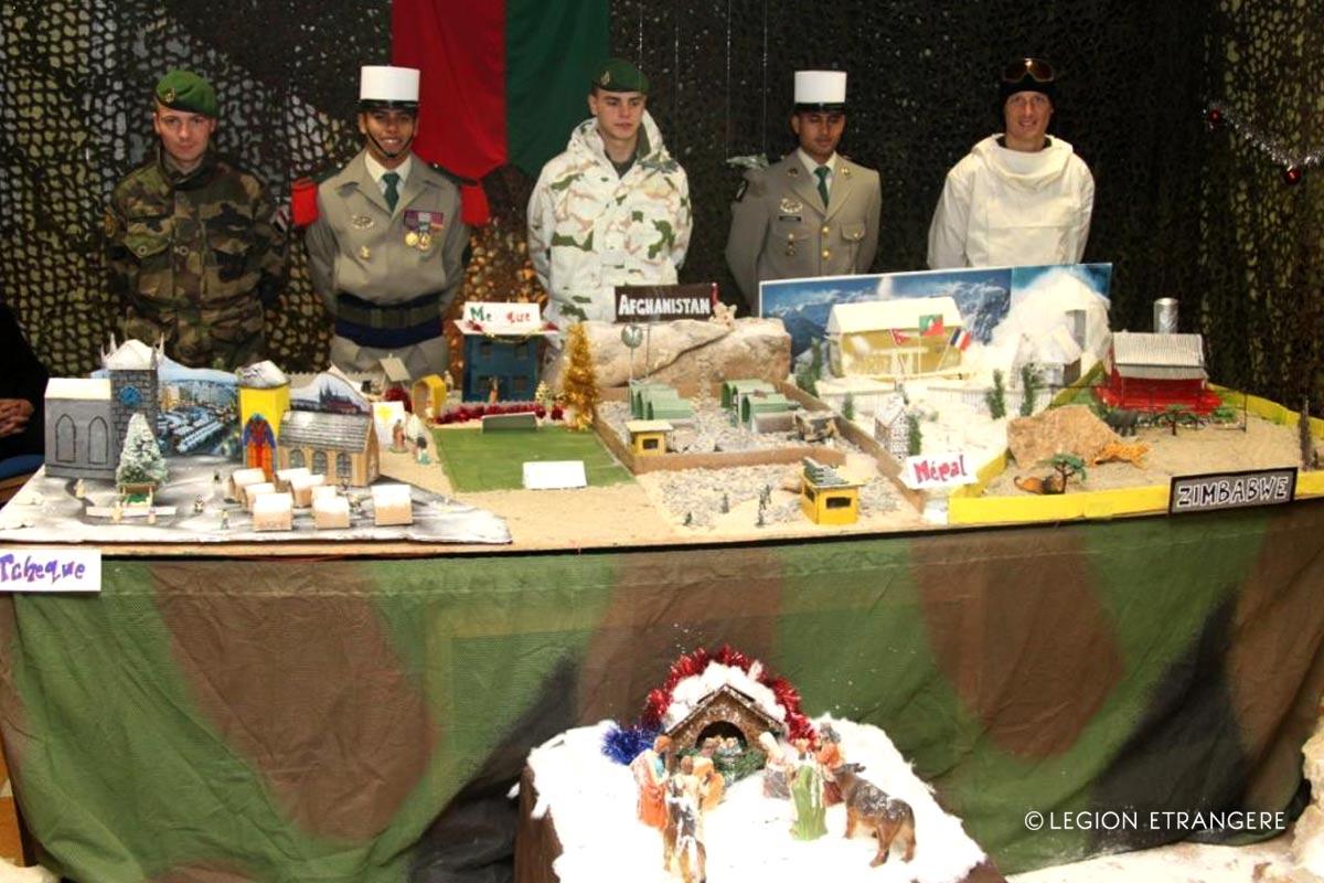 Christmas- Noel - Creche - Foreign Legion Etrangere