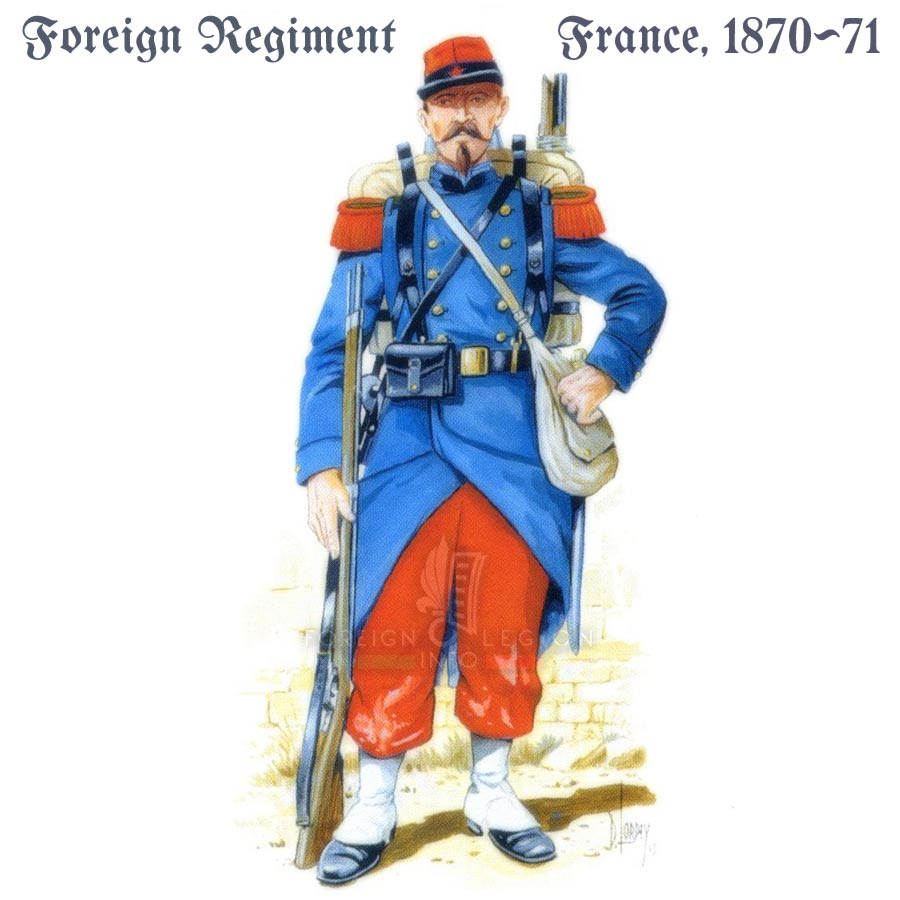 Foreign Legion Etrangere - France - 1870-71