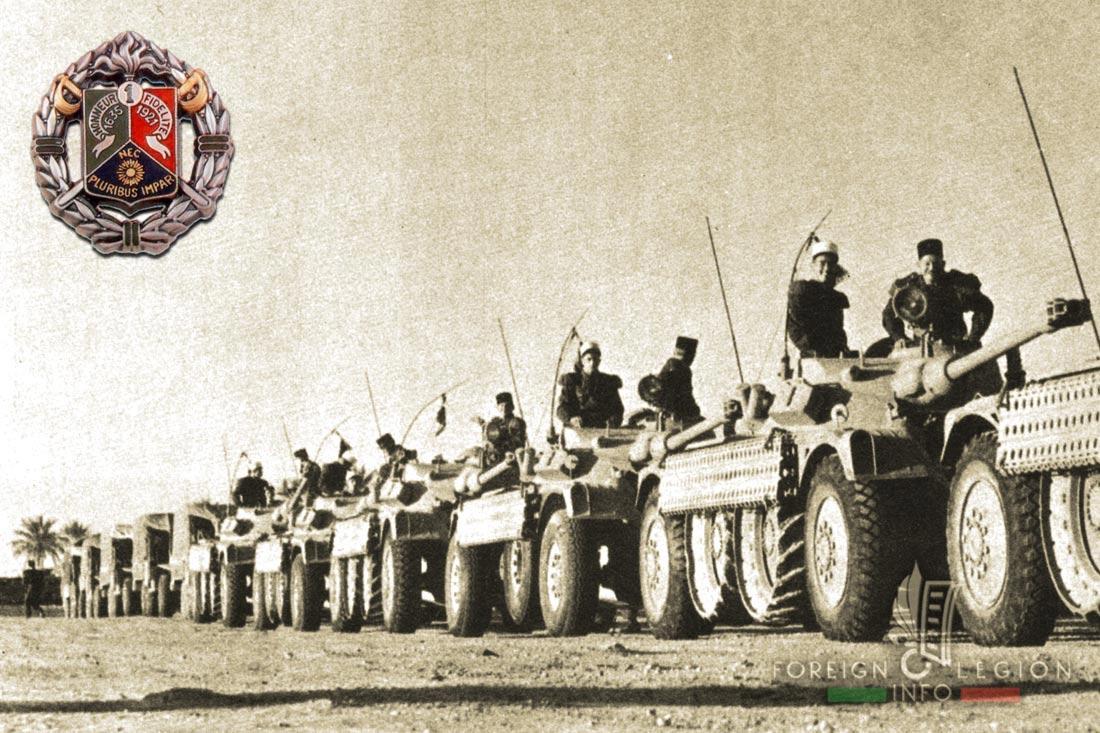 1er REC - 1 REC - Foreign Legion Etrangere - 1957 - Algeria