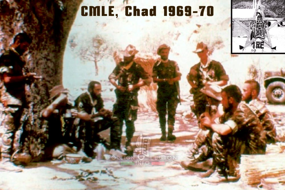 CMLE - Foreign Legion Etrangere - 1969-70 - Chad