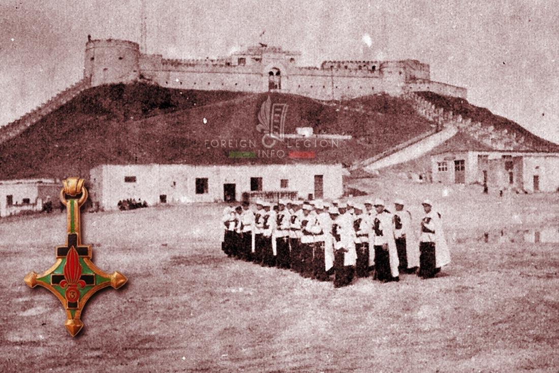 3e CSPL - 3 CSPL - Foreign Legion Etrangere - 1954 - Libya - Fort Leclerc