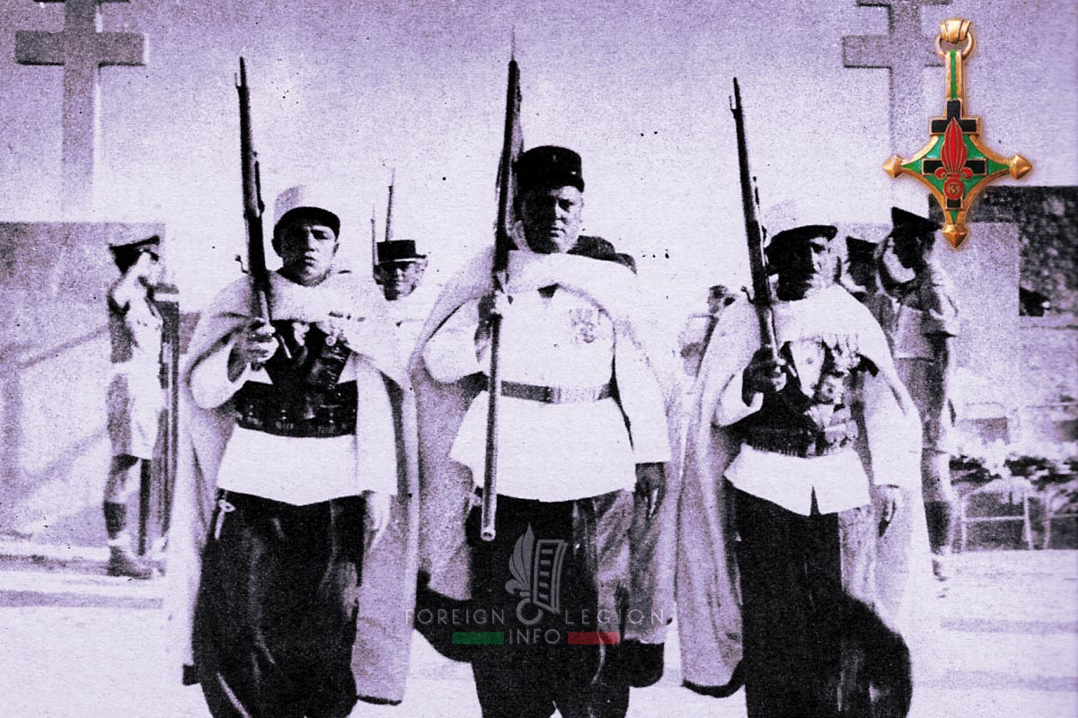 3e CSPL - 3 CSPL - Foreign Legion Etrangere - 1955 - Libya - Fanion