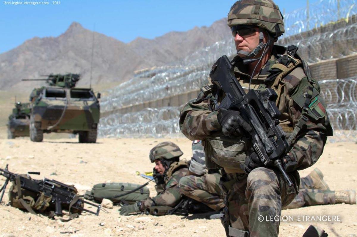 2e REI - 2 REI - Foreign Legion Etrangere - 2011 - Afghanistan