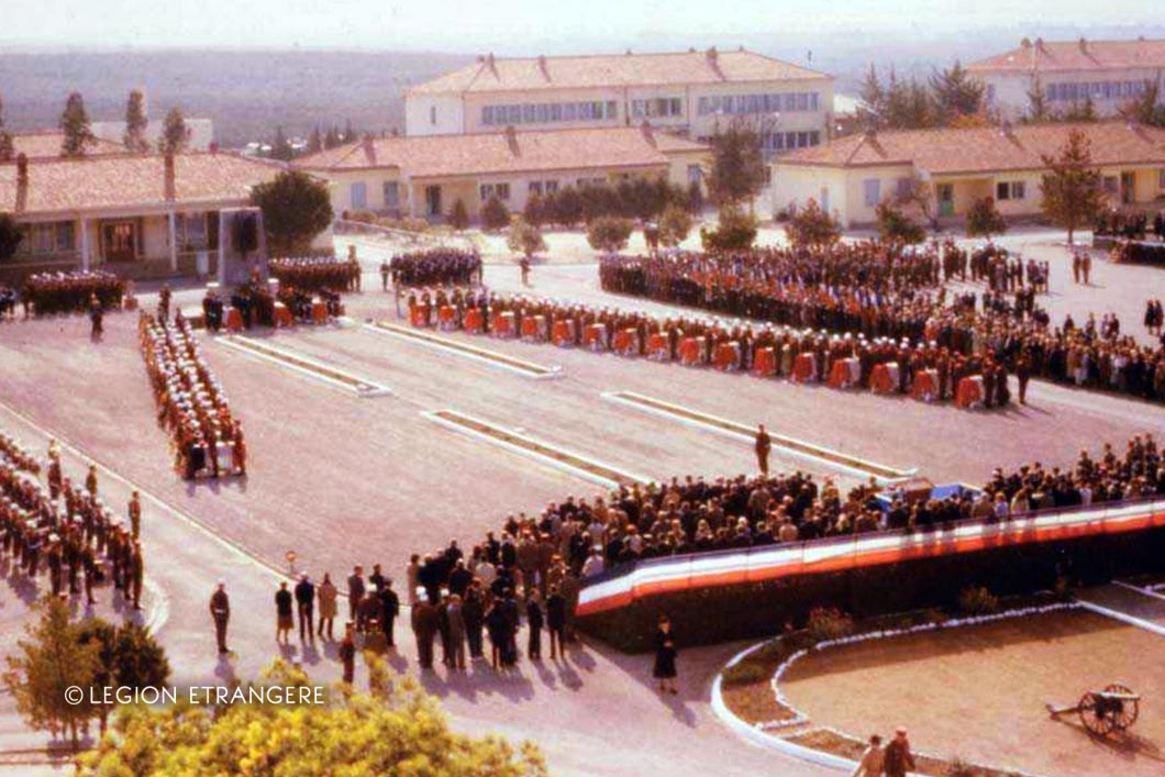 2e REP - 2 REP - Foreign Legion Etrangere - 1982 - Calvi - Camp Raffalli - Mont Garbi accident