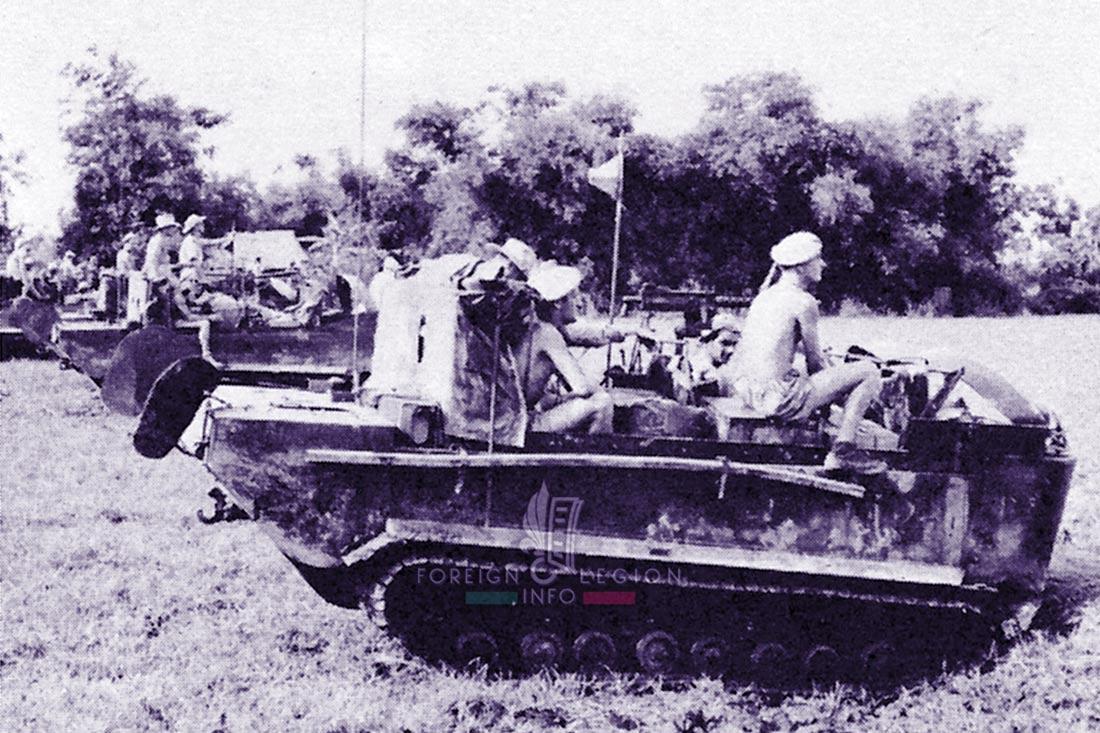 1er REC - 1 REC - Foreign Legion Etrangere - 1954 - French Indochina