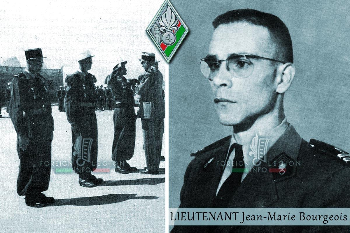 4e REI - 4 REI - Foreign Legion Etrangere - Algeria - Lieutenant Jean-Marie Bourgeois
