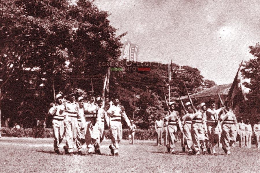1er REC - 5e REI - Foreign Legion Etrangere - 1955 - French Indochina