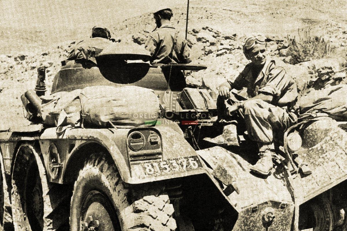 1er REC - 1 REC - Foreign Legion Etrangere - 1959 - Algeria