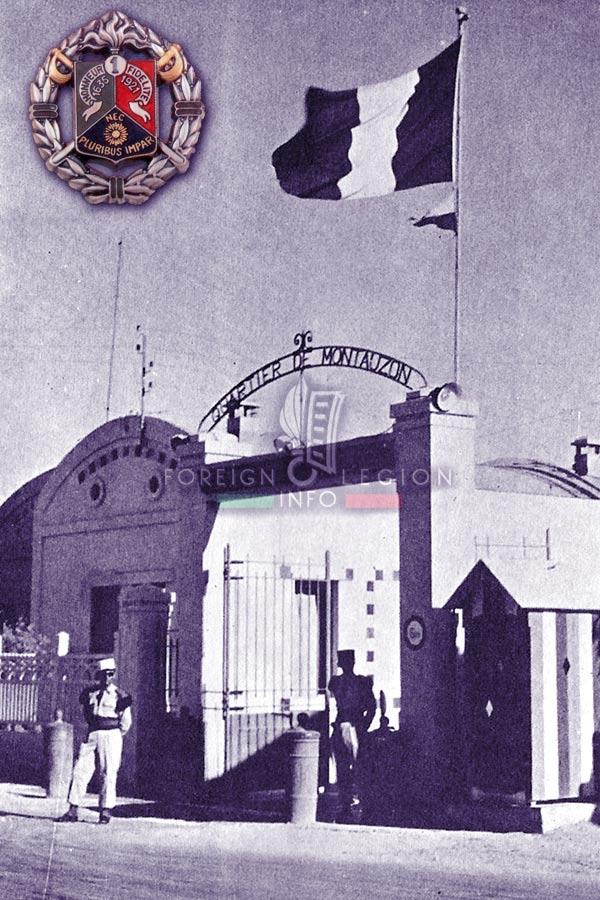 1er REC - 1 REC - Foreign Legion Etrangere - 1956 - Tunisia