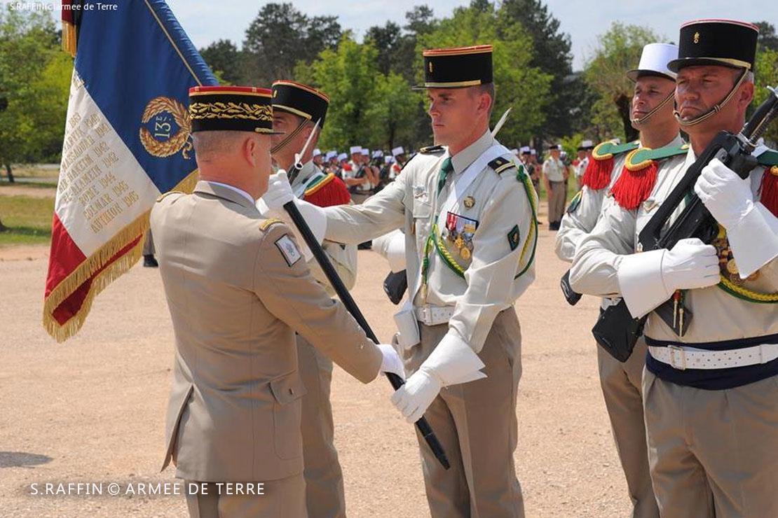 13e DBLE - 13 DBLE - Foreign Legion Etrangere - 2016 - Drapeau