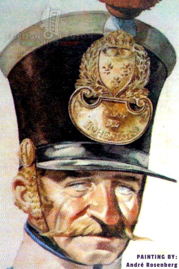 Foreign Legion Etrangere - Hohenlohe Regiment - André Rosenberg
