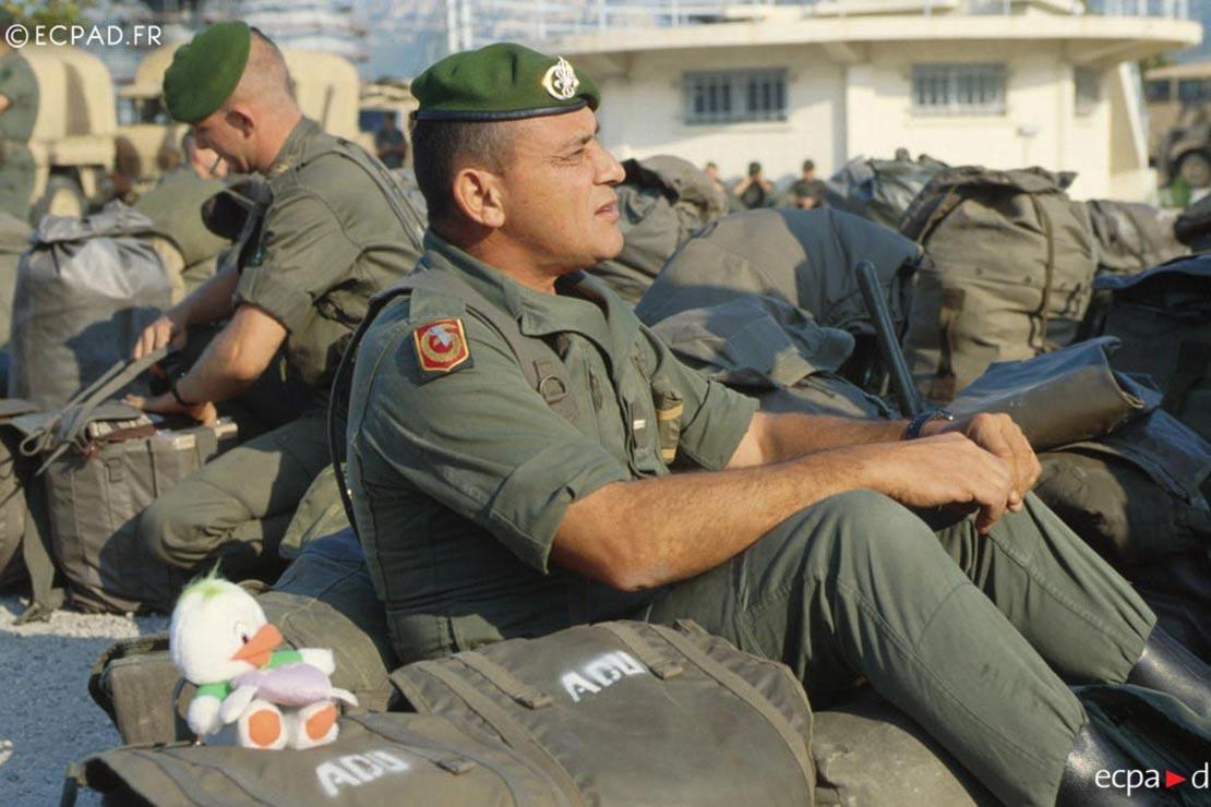 1er REC - 1 REC - Foreign Legion Etrangere - 1990 - Gulf War
