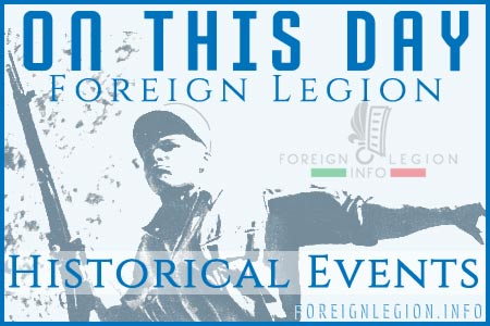 Historical Events - Foreign Legion