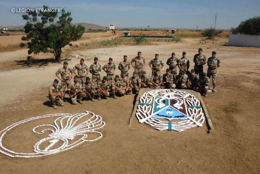 1er REC - 1 REC - Foreign Legion Etrangere - 2012 - Chad