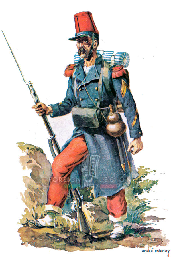 Legionnaire - Foreign Legion Etrangere - 1840 - Andre Marcy