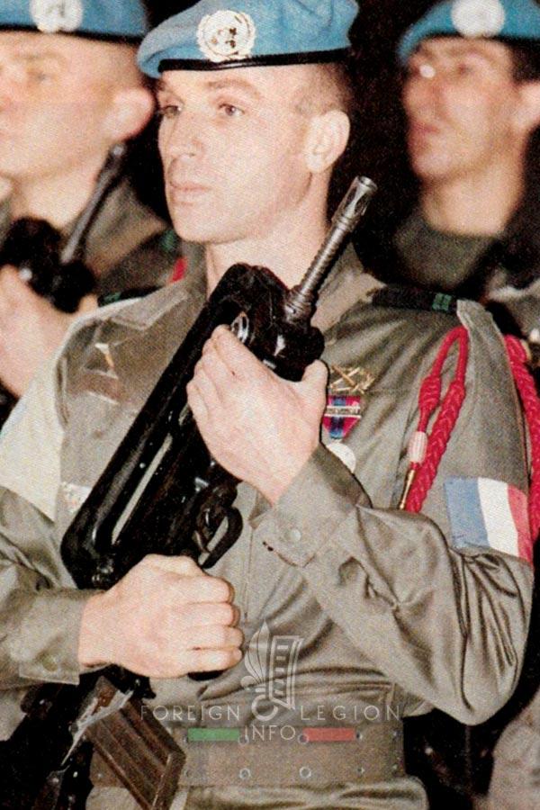 2e REP - 2 REP - Foreign Legion Etrangere - 1993 - Sarajevo - Bosnia