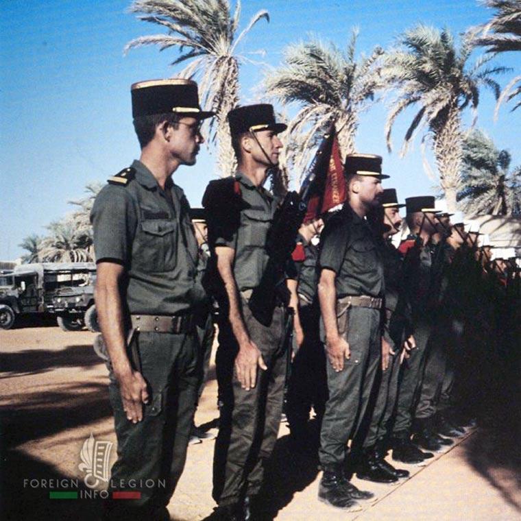 6e REG - 6 REG - Foreign Legion Etrangere - 1987 - Stevo Panic - Chad