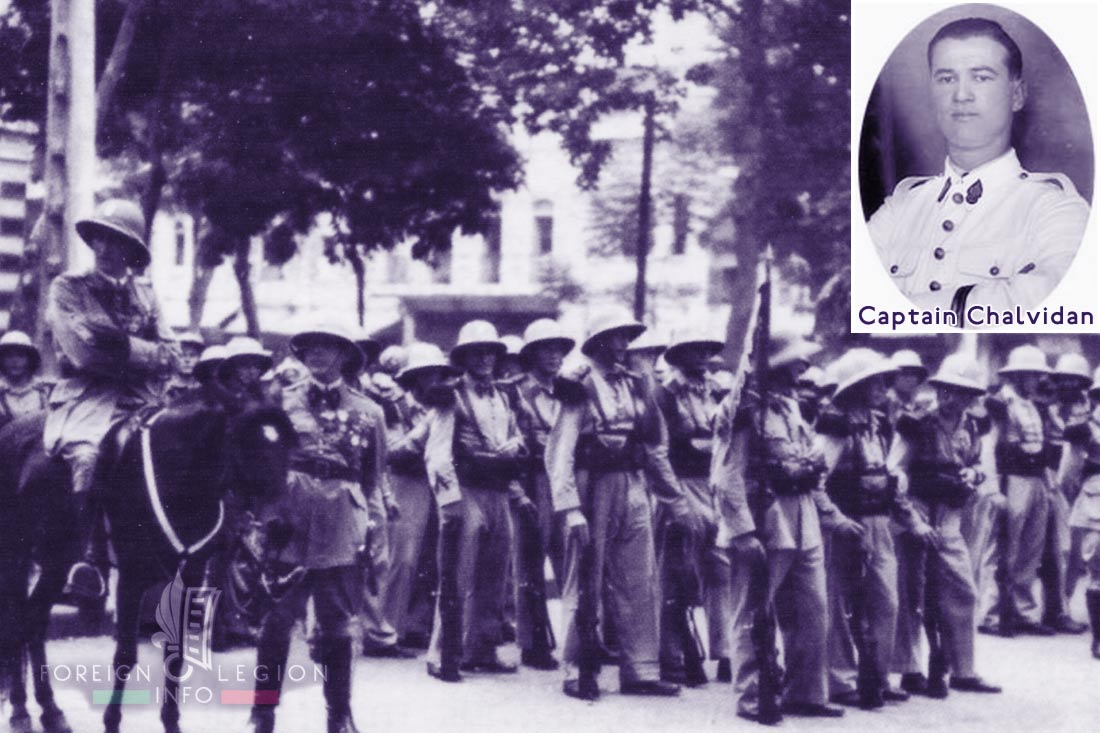 5e REI - 5 REI - Foreign Legion Etrangere - 1940 - Indochina