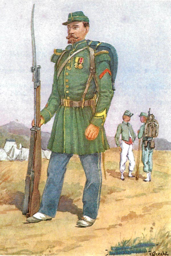 Swiss Legion - 2nd Foreign Legion - 2e Legion - Foreign Legion Etrangere - 1855